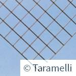 Rete elettrosaldata - Pannello senza punte, sezione Rete elettrosaldata - Pannello senza punte